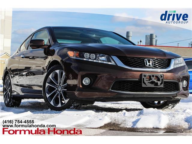 2013 Honda Accord EX-L-NAVI V6 (Stk: B10792A) in Scarborough - Image 1 of 30