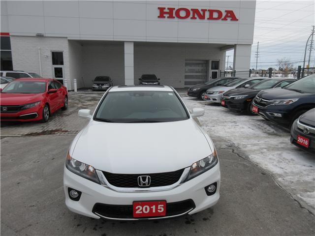 2015 Honda Accord EX-L-NAVI (Stk: SS3356) in Ottawa - Image 2 of 10