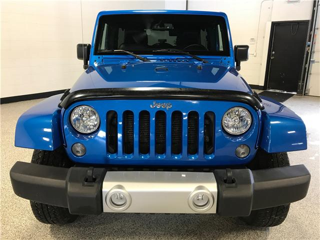 2015 Jeep Wrangler Unlimited Sahara (Stk: P11661B) in Calgary - Image 2 of 16