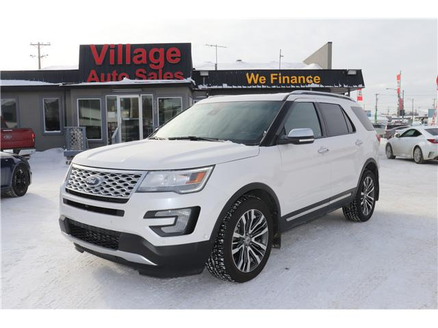 2016 Ford Explorer Platinum (Stk: P36097) in Saskatoon - Image 1 of 30