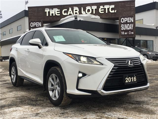 2016 Lexus RX 350 Base (Stk: 18432) in Sudbury - Image 1 of 16
