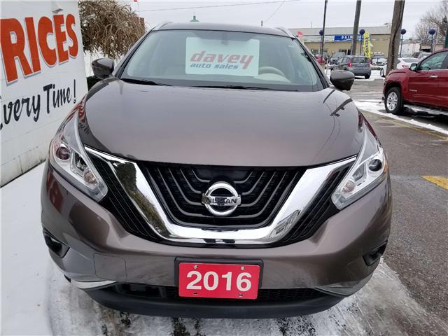 2016 Nissan Murano Platinum (Stk: 19-094T) in Oshawa - Image 2 of 20