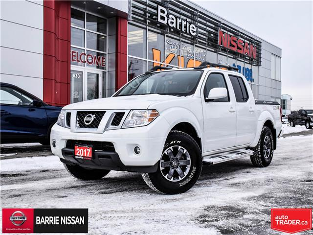 2017 Nissan Frontier PRO-4X (Stk: P4528A) in Barrie - Image 1 of 27