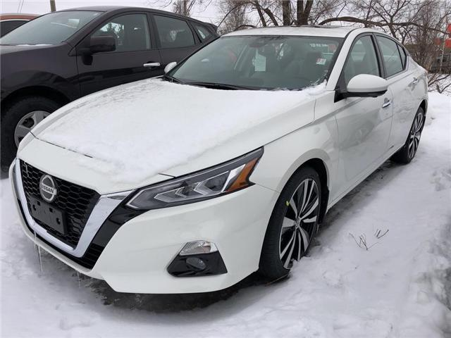 2019 Nissan Altima 2.5 Platinum (Stk: V0188) in Cambridge - Image 1 of 5