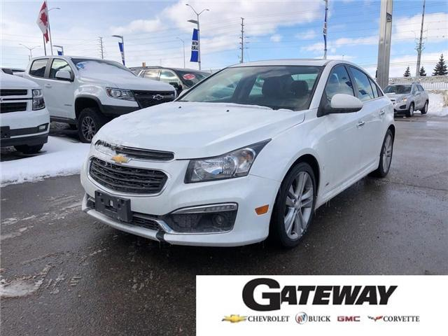 2015 Chevrolet Cruze 2LT||LEATHER|NAVIGATION|SUNROOF| (Stk: PW12767) in BRAMPTON - Image 1 of 17