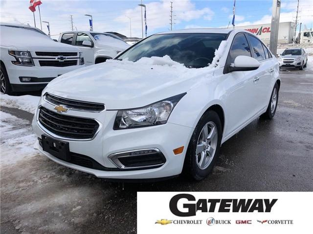 2015 Chevrolet Cruze 2LT|Leather|Sunroof|Rear Camera|Heated Seats| (Stk: 17798) in BRAMPTON - Image 1 of 16