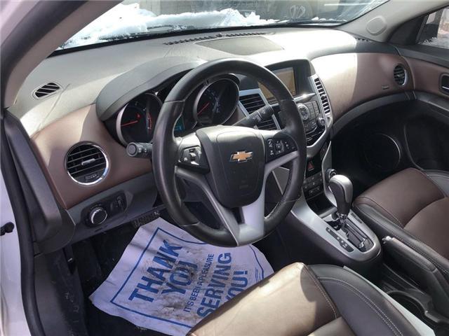 2015 Chevrolet Cruze 2LT Leather Sunroof Rear Camera Heated Seats  (Stk: 17798) in BRAMPTON - Image 9 of 16