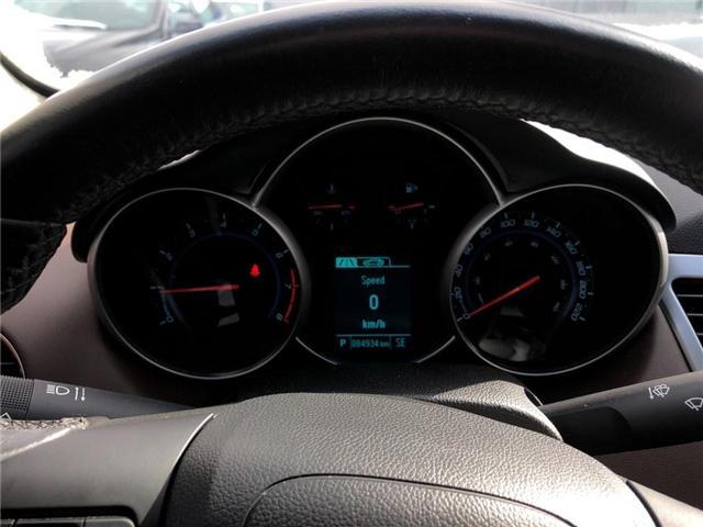 2015 Chevrolet Cruze 2LT Leather Sunroof Rear Camera Heated Seats  (Stk: 17798) in BRAMPTON - Image 12 of 16