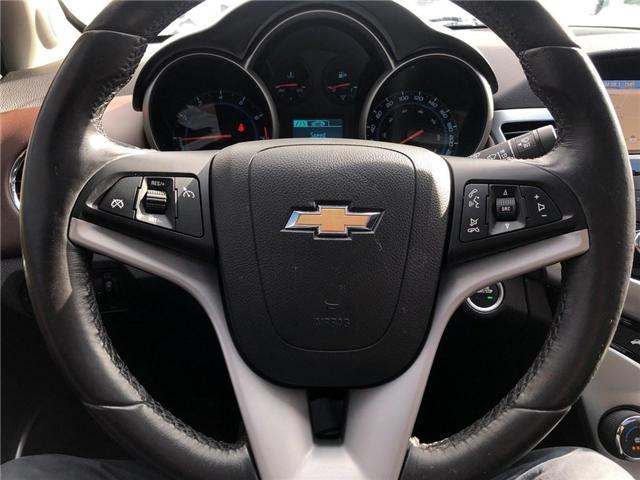 2015 Chevrolet Cruze 2LT Leather Sunroof Rear Camera Heated Seats  (Stk: 17798) in BRAMPTON - Image 13 of 16