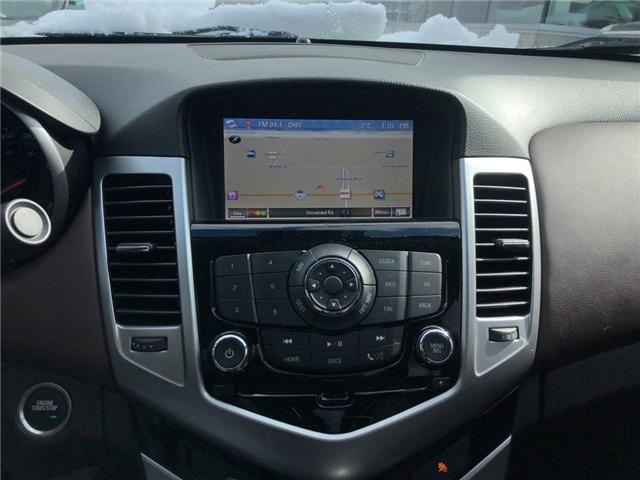 2015 Chevrolet Cruze 2LT Leather Sunroof Rear Camera Heated Seats  (Stk: 17798) in BRAMPTON - Image 14 of 16