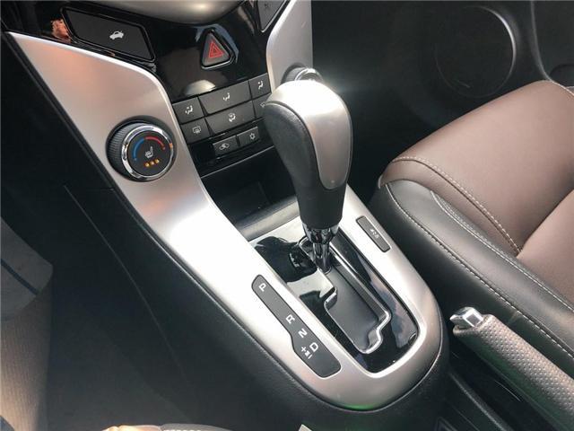 2015 Chevrolet Cruze 2LT Leather Sunroof Rear Camera Heated Seats  (Stk: 17798) in BRAMPTON - Image 15 of 16