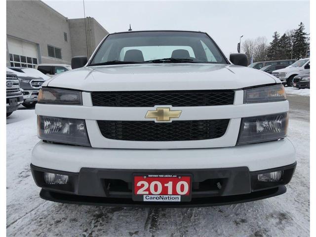 2010 Chevrolet Colorado LT-1SA | REG CAB | 2WD | ULTRA LOW KILOMETERS (Stk: W2751A) in Brantford - Image 2 of 27