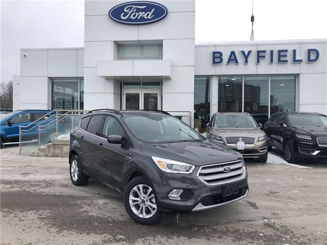 2019 Ford Escape SEL (Stk: ES19249) in Barrie - Image 1 of 28