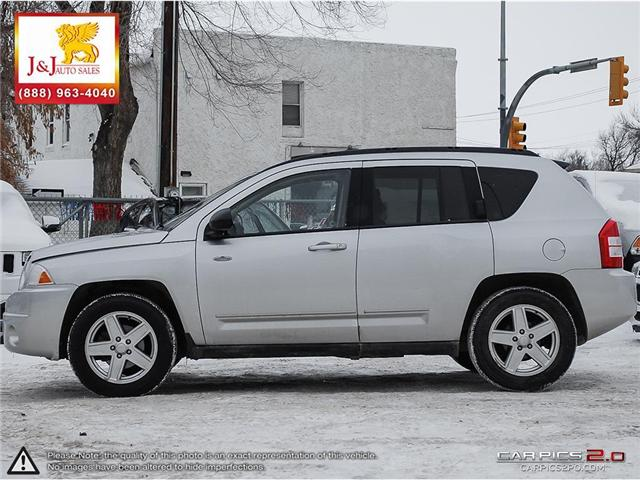 2010 Jeep Compass Sport/North (Stk: J18103-1) in Brandon - Image 3 of 27