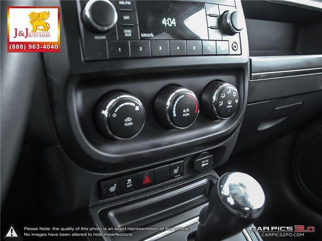 2010 Jeep Compass Sport/North (Stk: J18103-1) in Brandon - Image 20 of 27