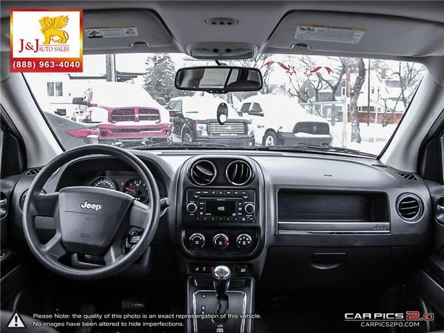2010 Jeep Compass Sport/North (Stk: J18103-1) in Brandon - Image 25 of 27