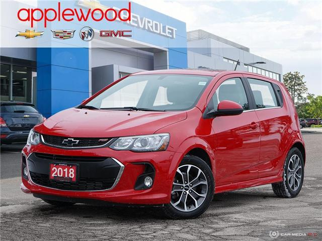 2018 Chevrolet Sonic LT Auto (Stk: 8074A) in Mississauga - Image 1 of 27