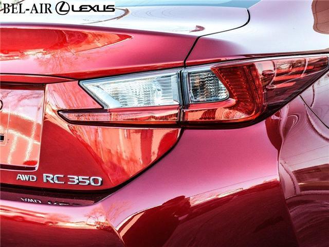 2015 Lexus RC 350 Base (Stk: L0479) in Ottawa - Image 11 of 29