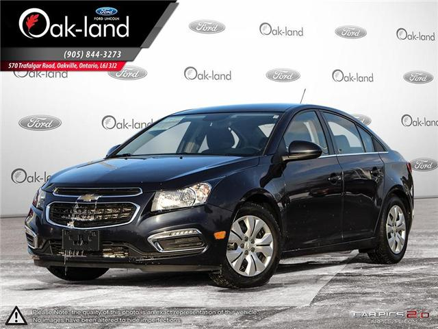 2015 Chevrolet Cruze 1LT (Stk: 8T561A) in Oakville - Image 1 of 25