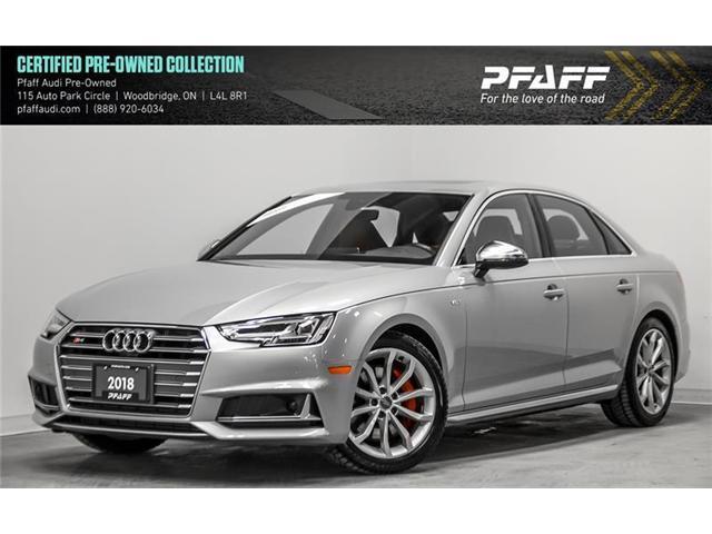 2018 Audi S4 3.0T Technik (Stk: C6553) in Vaughan - Image 1 of 22