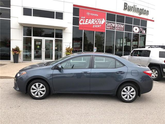 2016 Toyota Corolla  (Stk: U10432) in Burlington - Image 2 of 18