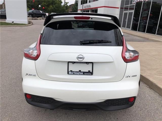2017 Nissan Juke  (Stk: U10401) in Burlington - Image 4 of 19