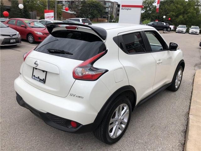 2017 Nissan Juke  (Stk: U10401) in Burlington - Image 5 of 19