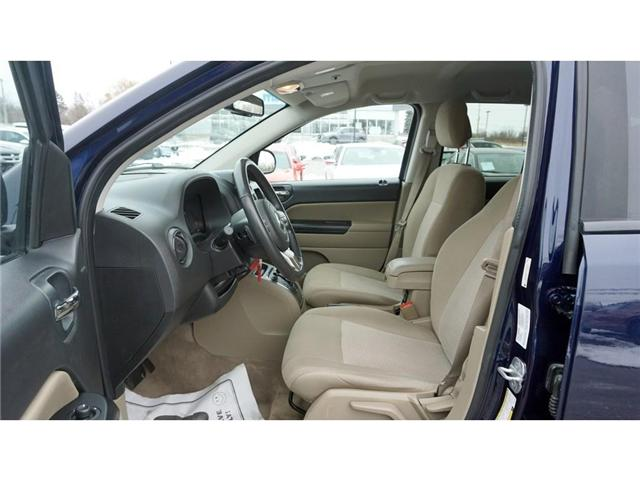 2013 Jeep Compass Sport/North (Stk: HU730A) in Hamilton - Image 14 of 30