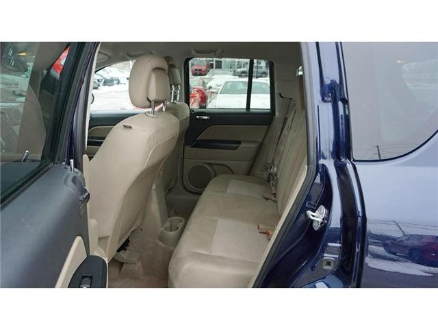 2013 Jeep Compass Sport/North (Stk: HU730A) in Hamilton - Image 21 of 30
