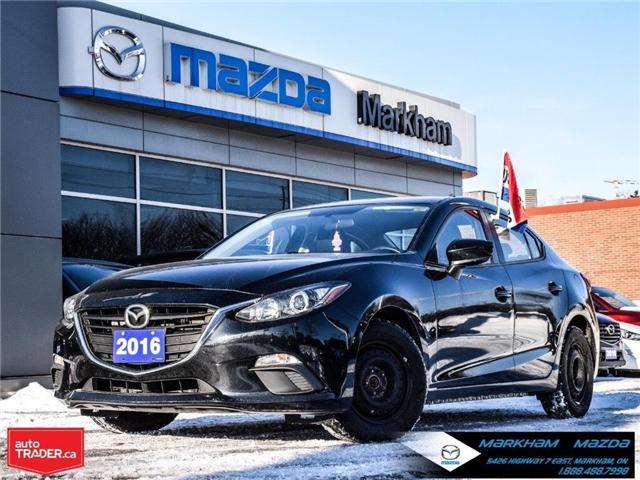 2016 Mazda Mazda3  (Stk: N190220A) in Markham - Image 1 of 27