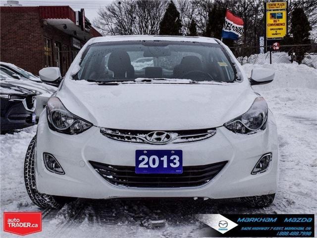 2013 Hyundai Elantra  (Stk: D180986A) in Markham - Image 2 of 25