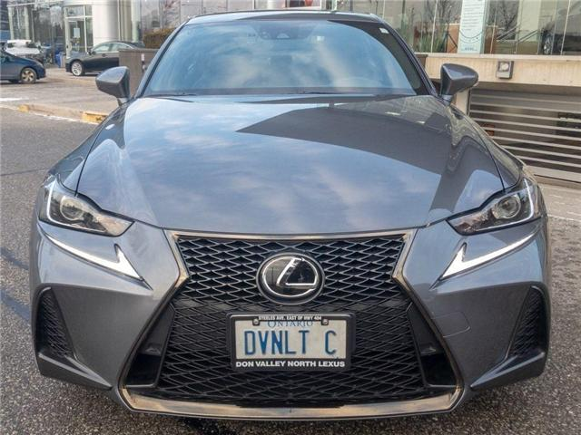 2018 Lexus IS 300 F-Sport Series 3 NAVIGATION BACKUP CAM SUNROOF (Stk: D278729) in Markham - Image 2 of 20