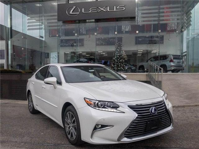 2018 Lexus ES 300h Executive Package NAVIGATION BACKUP CAM SUNROOF (Stk: D286032) in Markham - Image 1 of 20