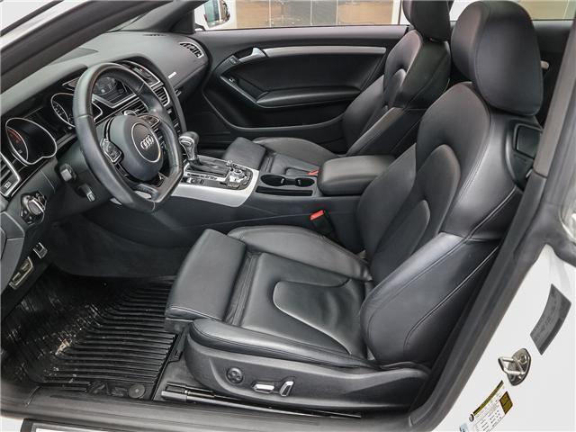 2017 Audi A5 2.0T Komfort (Stk: P2930) in Toronto - Image 11 of 26