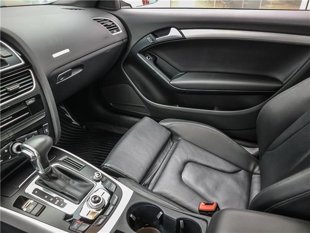 2017 Audi A5 2.0T Komfort (Stk: P2930) in Toronto - Image 14 of 26