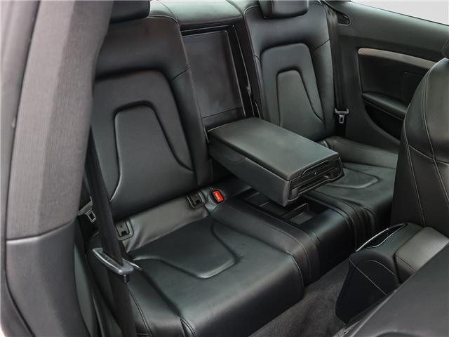 2017 Audi A5 2.0T Komfort (Stk: P2930) in Toronto - Image 19 of 26