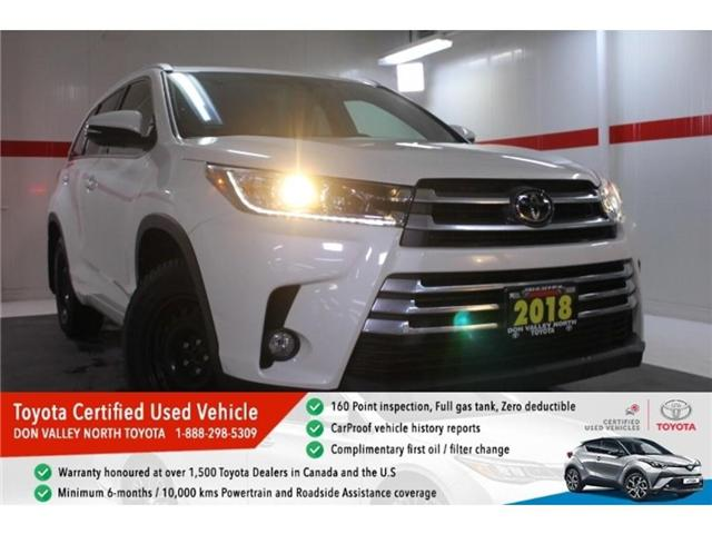 2018 Toyota Highlander XLE (Stk: 297439S) in Markham - Image 1 of 25
