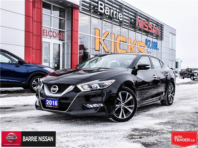 2016 Nissan Maxima SV (Stk: P4534) in Barrie - Image 1 of 27