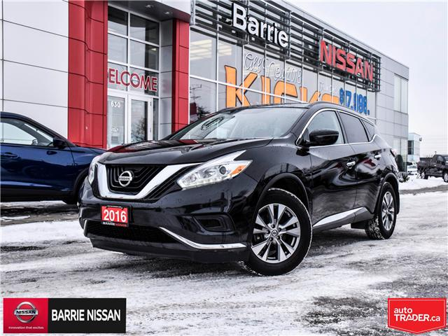 2016 Nissan Murano S (Stk: 18752A) in Barrie - Image 1 of 25