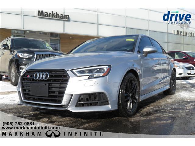 2018 Audi S3 2.0T Technik (Stk: J147B) in Markham - Image 1 of 27