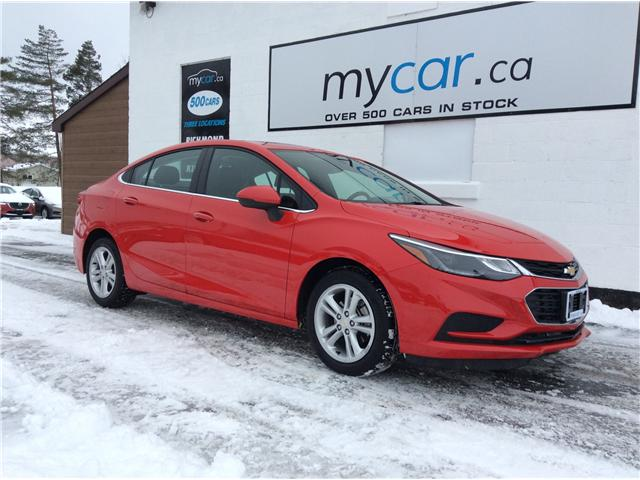 2018 Chevrolet Cruze LT Auto (Stk: 190107) in North Bay - Image 1 of 20