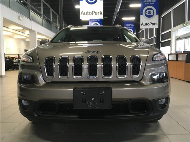 2017 Jeep Cherokee North (Stk: 17-51243MB) in Barrie - Image 2 of 25