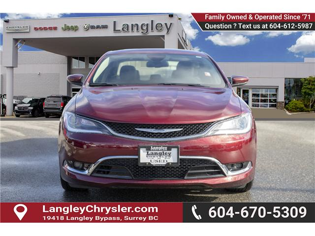 2016 Chrysler 200 C (Stk: EE900750A) in Surrey - Image 2 of 24