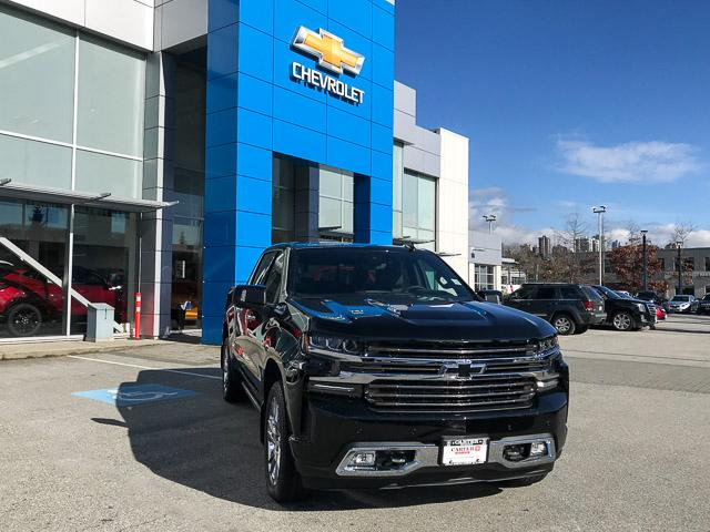 2019 Chevrolet Silverado 1500 High Country (Stk: 9L99450) in North Vancouver - Image 2 of 13