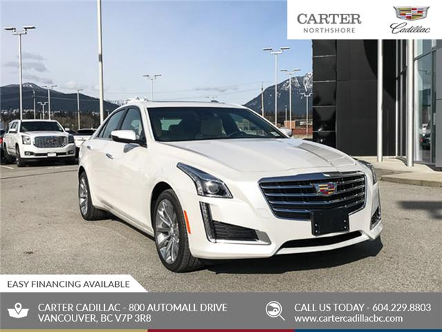 2018 Cadillac CTS 3.6L Luxury (Stk: 8D81530) in North Vancouver - Image 1 of 23