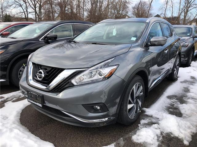 2018 Nissan Murano Platinum (Stk: MU18116) in St. Catharines - Image 1 of 5