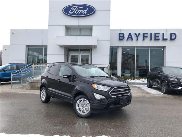 2019 Ford EcoSport SE (Stk: ET19259) in Barrie - Image 1 of 26