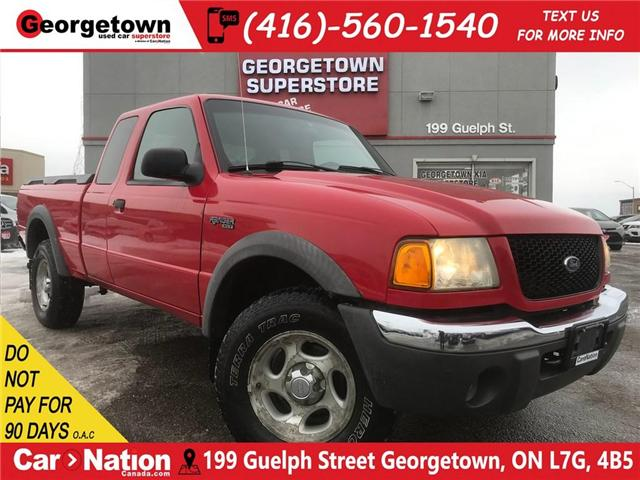 2002 Ford Ranger XLT 4.0L   FOUR WHEEL DRIVE   POWER OPT SUPER CAB (Stk: P11770) in Georgetown - Image 1 of 23