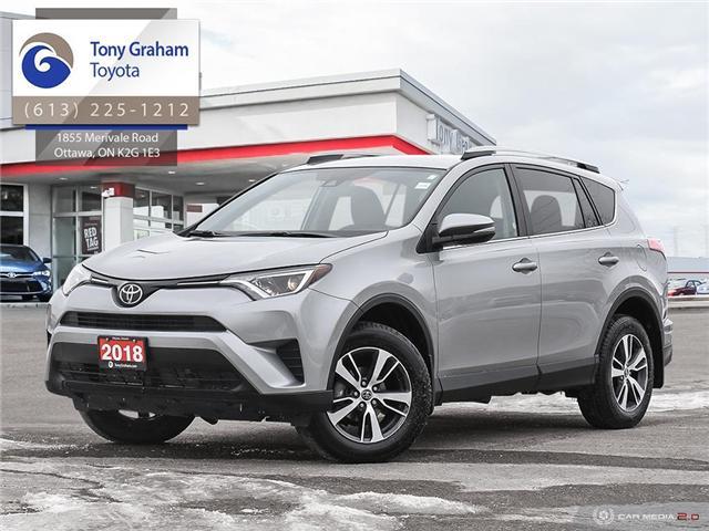 2018 Toyota RAV4 LE (Stk: U9066) in Ottawa - Image 1 of 28