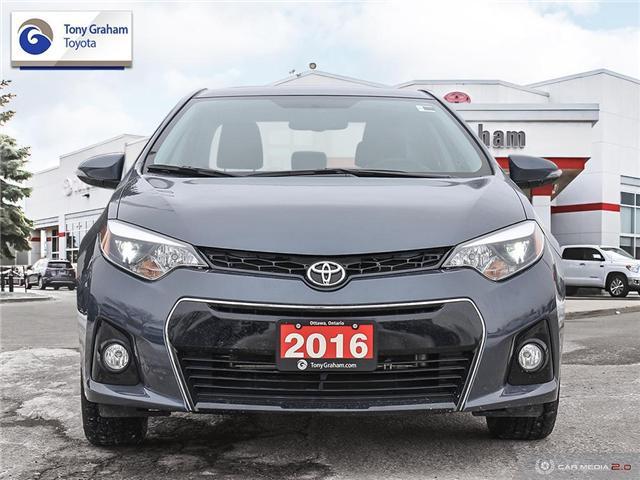 2016 Toyota Corolla S (Stk: E7722) in Ottawa - Image 2 of 29